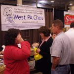 West PA Chefs had a steady stream of visitors at the Good Taste! Pittsburgh Show